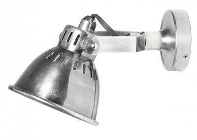 Rio silver Zidna Lampa