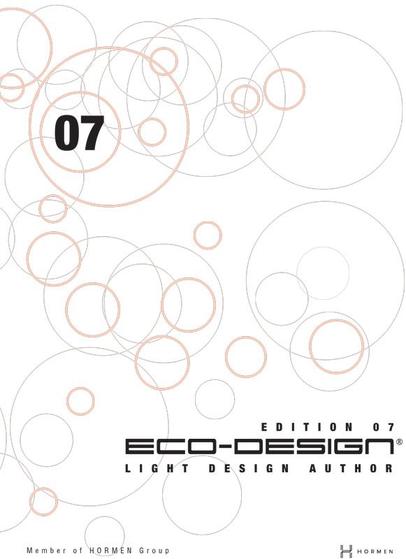 Katalog lampi od ekološke rasvete - Ecodesign