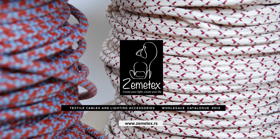 Visokokvalitetni tekstilni kablovi i elektromaterijal - katalog