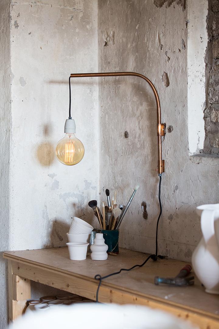 Tuben wall - Zidna Lampa