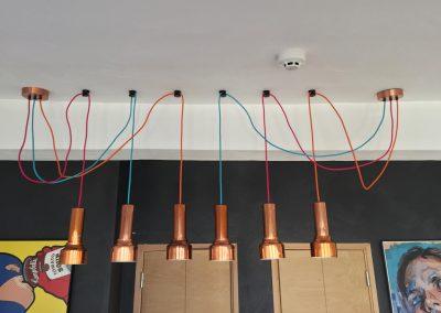 Tekstilni kablovi u galeriji