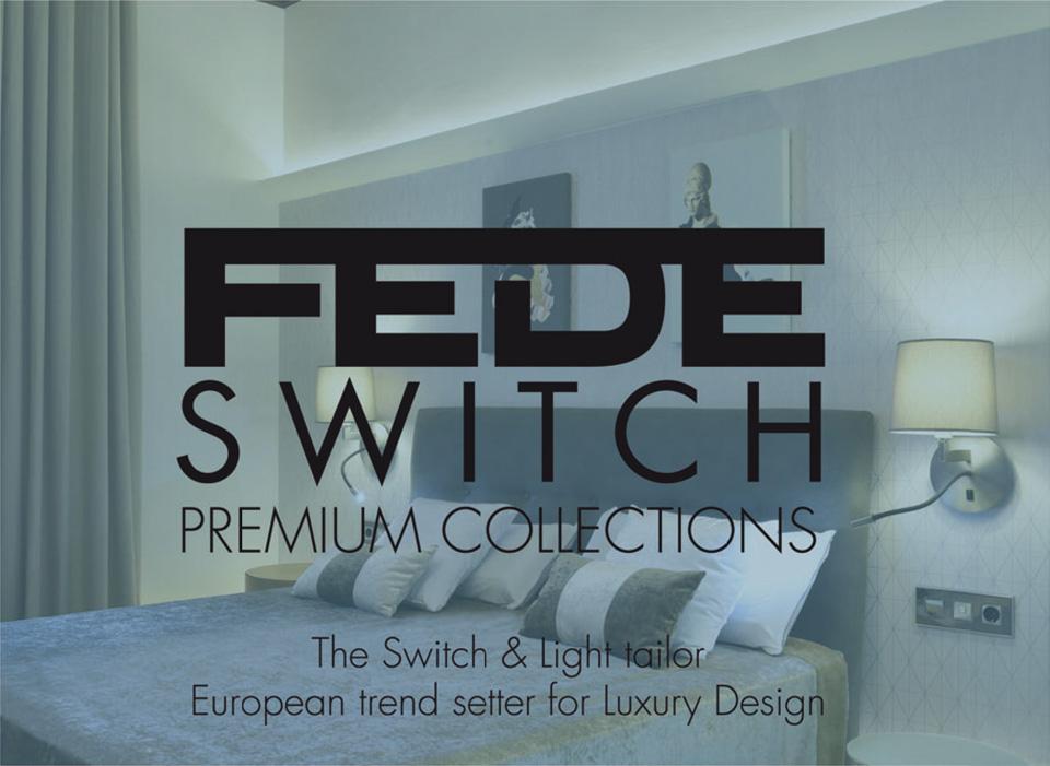 Katalog električnih prekidača i utikača iz FEDE kolekcija