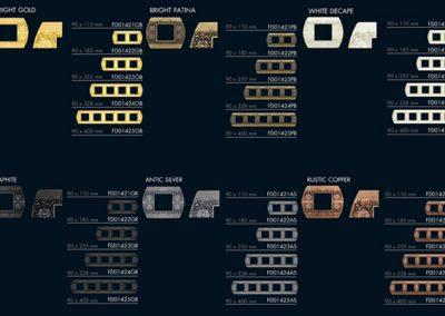 SAN REMO Kolekcija prekidaca za unutrasnji dizajn