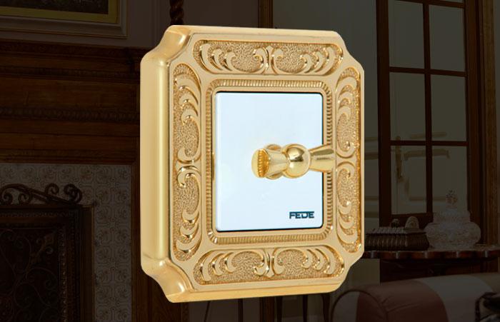 Toscana - FEDE Kolekcija predivnih prekidača od zlata, srebra i bronze