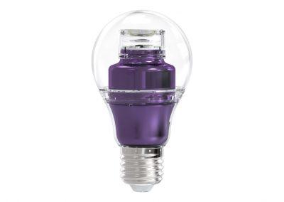 LED Sijalica Lookatme Ljubičasta