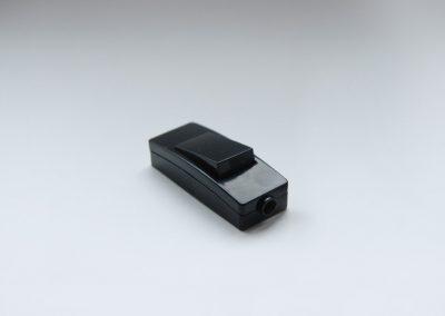 Prekidač za kabl, crn