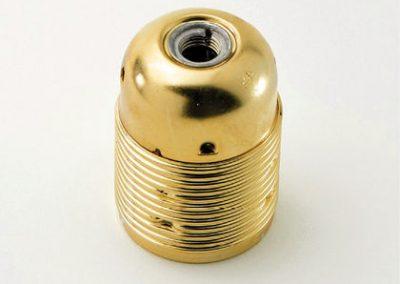 Grlo sijalicno sa navojem, E27, zlatna boja